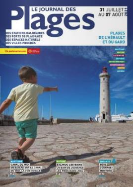 PLAGES DE L'HÉRAULT ET DU GARD du 31 Juillet au 7 août 2021