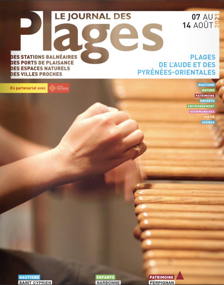 PLAGES DE L'AUDE ET DES PYRÉNÉES-ORIENTALES du 7 au 14 août 2021