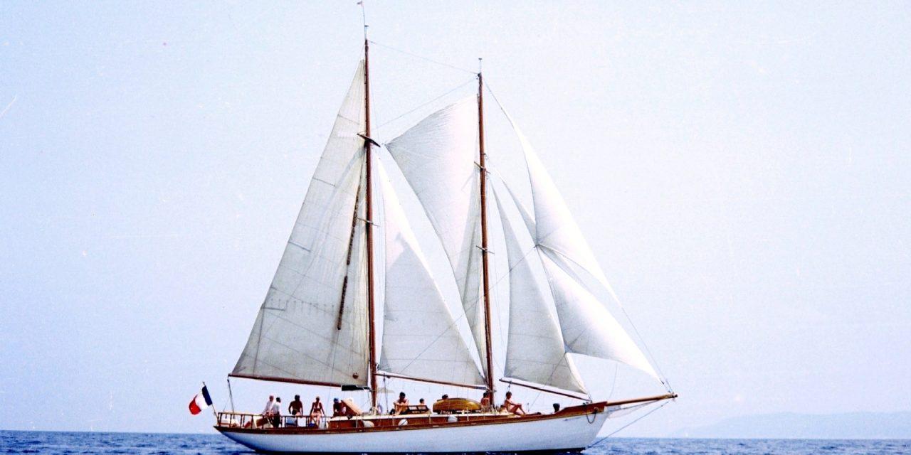Balade à bord d'un voilier historique
