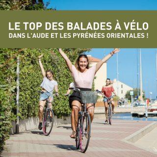 ENVIE D'ENFOURCHER VOTRE VÉLO ? 🚴  Découvrez notre sélection de balades à vélo dans l'Aude et les Pyrénées Orientales accessibles à tous ! 😎 Pour une journée ou une demi journée, pédalez dans un environnement bucolique aux panoramas incroyables 😍  🥰  Retrouvez toutes nos idées de sorties sur www.journaldesplages.fr (lien dans la bio)  👀  Pour plus d'informations :  - Port-Barcarès > Canet-en-Roussillon : @portbarcares  - À vélo jusqu'à Villeneuve-la-Raho : @perpignan.mediterranee  - Las Canals : @perpignan.mediterranee  - Circuit médium VTT des Albères : @argelessurmer  - Plage et vélo : @torreillestourisme  - L'étang de Canet à vélo : @canetenroussillon   📸  Crédits photos (par ordre d'apparition) :  © Sébastien Mias © OT Port-Barcarès  © OT Grand Perpignan  © OT Perpignan-Méditerranée © Blue Bear © OT Torreilles-N. Puigbert © Canet-en-Roussillon   #journaldesplages #media #hebdogratuit #littoral #suddelafrance #southoffrance #suddefrance #occitanie #mer #plage #hérault #gard #aude #pyrénéesorientales #vacances #loisir #été #summer #découverte #tourisme #balades #occitanietourisme #tourismeoccitanie #trip #balade #vélo #bike #cyclotourisme #cycling #cyclinglife